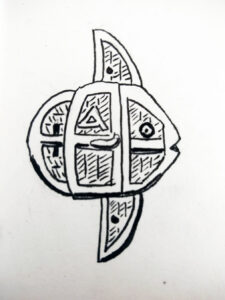 Delt represents the letter dalet.