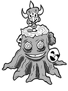 The Idol Oak demands worship.