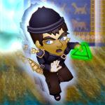 Shem runs away from the Bavel gate.