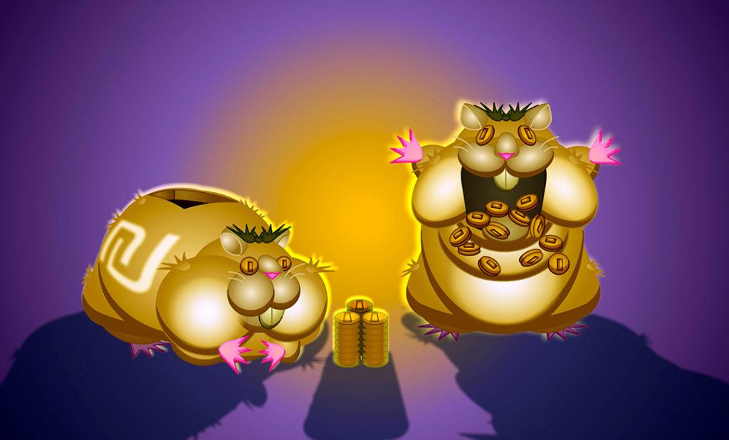 Oger hamsters gobble up money.