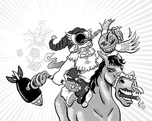 Tzafon is like Santa with a broken moral compass.